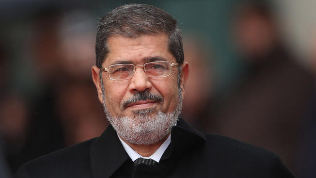 Former Egyptian President Mohammed Morsi passed away Monday after collapsing during a court hearing. (Sean Gallup | Getty Images)