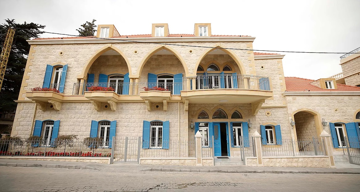 Hammana Artist House, an art residency space situated 40-minutes from Beirut. (hah-lb.org)