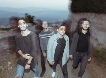 Post-rock band Ilvy –Paul Toubia, Anthony Hakim, Joe Kareh, Gabriel Sarkissian. (Tony Elieh)
