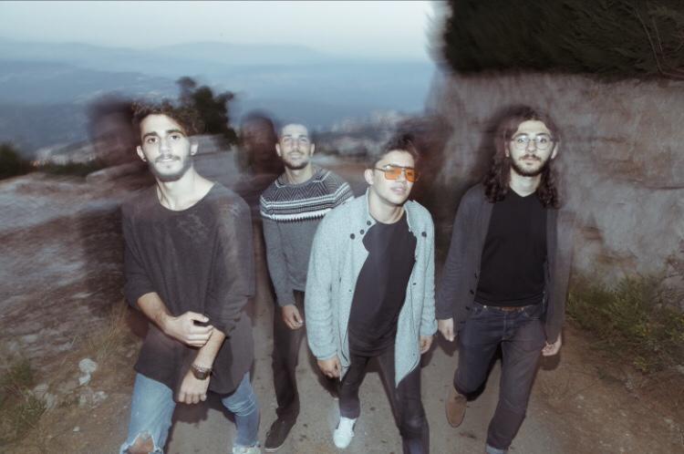Post-rock band Ilvy –Paul Toubia, Anthony Hakim, Joe Kareh, Gabriel Sarkissian. (Tony Elieh)