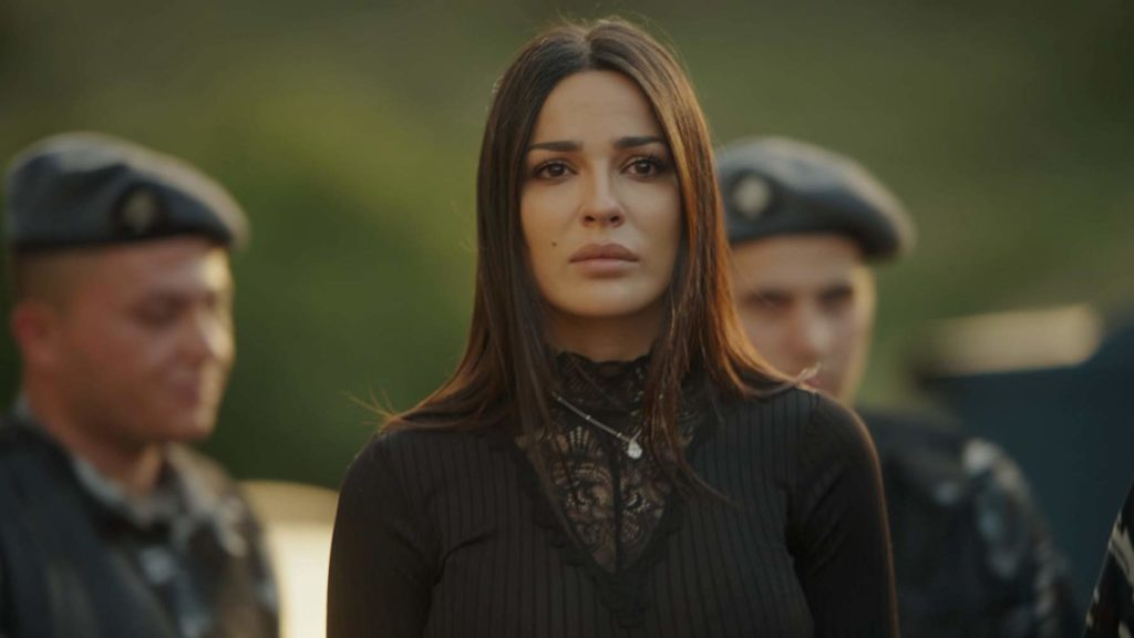 Nadine Njeim in Al-Haybe. The actress Nadine Njeim turned down her previous role in season two of Al Hayba because she felt the Ramadan series was a predominantly male story. (IMDb)