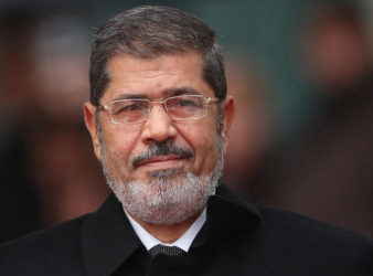 Former Egyptian President Mohammed Morsi passed away Monday after collapsing during a court hearing. (Sean Gallup   Getty Images)