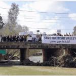 Protesting the Bisri Dam (ejatlas.org)