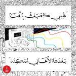 Lyrics from Mashrou' Leila's Tayf (Ghost). (Christina Atik | Beirut Today)