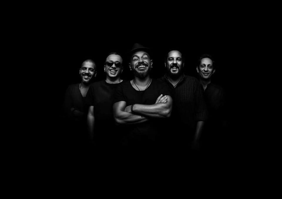 Egyptian rock band Massar Egbari. (Courtesy of Massar Egbari)