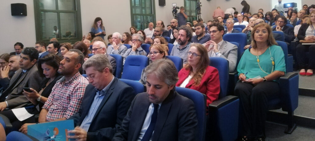 Crowd shot from the Gherbal Initiative conference. (Sandra Abdelbaki)