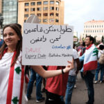 Protests in Beirut, IC article (Eva Mahfouz)