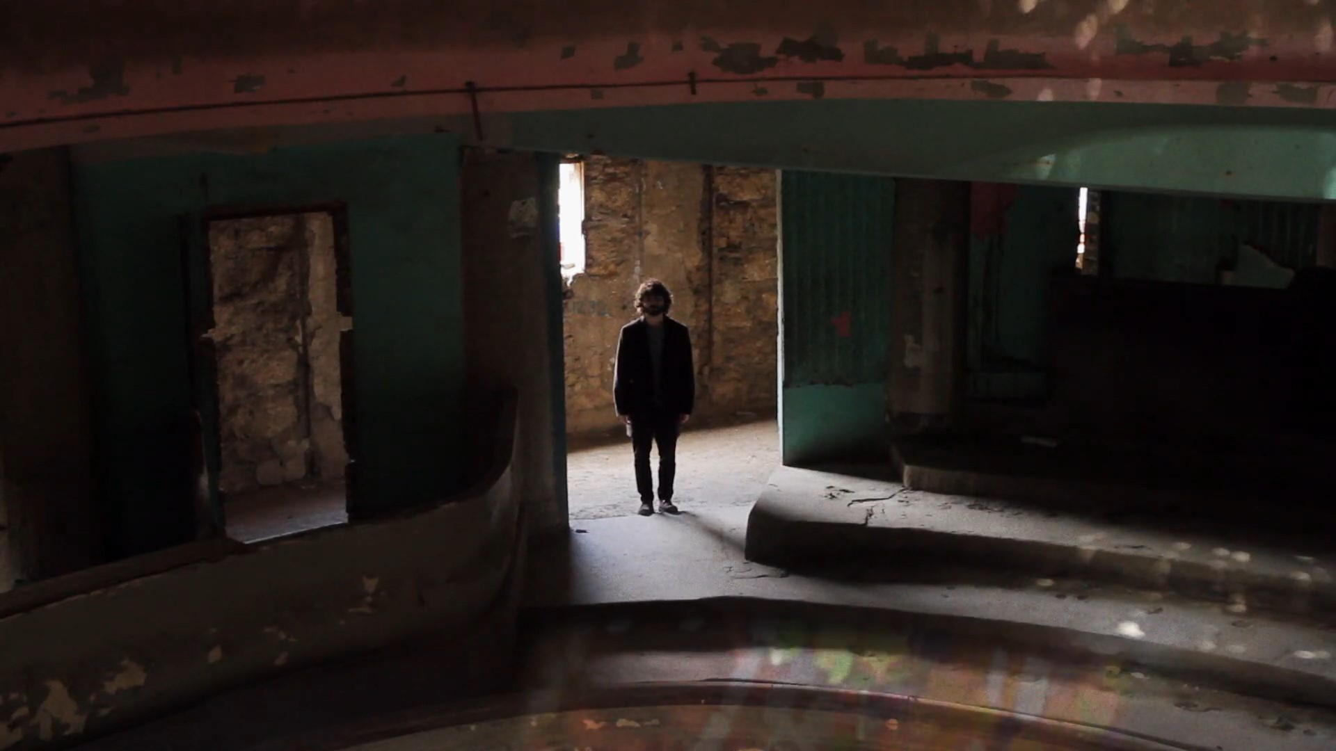 Still from Interbellum's Ready To Dissolve music video, directed by Camille Cabbabé.