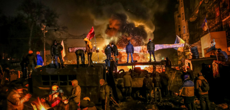 (Winter on Fire: Ukraine's Fight For Freedom)