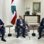 Designate Prime Minister Hassan Diab meets with President Michel Aoun and Lebanese Speaker of Parliament Nabih Berri. (Washington Post) - Lebanese government talks