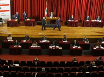 Parliament convenes for second day in a row on April 22, 2020. (Photo: NNA) Early elections / Nabih Berri article