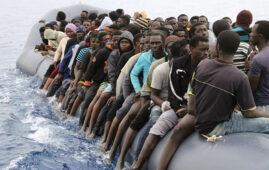 (PHOTO: Sputnik News via AFP / Abdullah Elgamoud) migrants and migration in Europe article