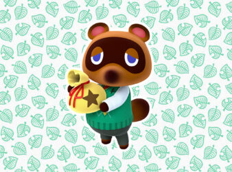 Tom Nook The Crook Carrying A Bag of Bells