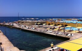 Sporting Club Beach (Photo: Beirut.com)