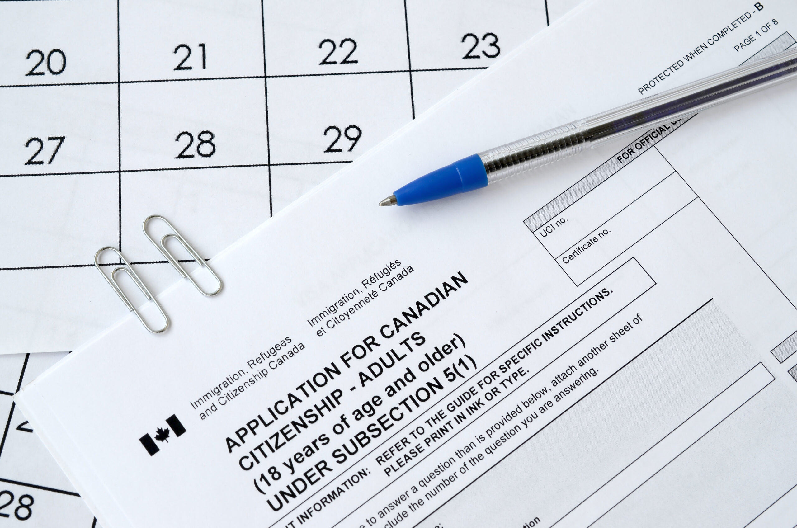 Canada application