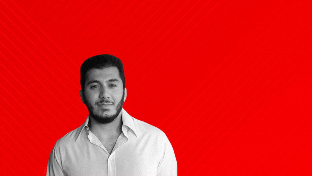 Image of Karim Safieddine against a red background